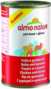 Almo Nature Adult Classic Chicken/Shrimps фото